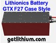 Lithionics Battery 24 Volt lithium-ion high performance GTX series lightweight battery for RV, sailboats, yachts, truck, marine and solar power systems