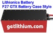 Lithionics Battery 51 Volt lithium-ion high performance GTX series lightweight battery for RV, sailboats, yachts, car, truck, marine and solar power systems