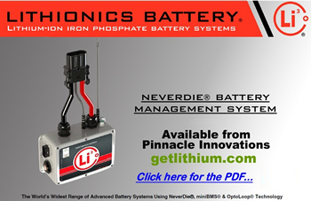 Click here for the Lithionics Battery NeverDie Battery Management System (BMS) catalogue PDF