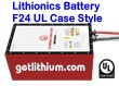 Lithionics Battery GT Series 12 Volt 450 Amp hour lithium-ion high performance lightweight battery module for RV, sailboats, yachts, marine, solar energy storage and more