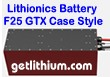 Lithionics Battery GTX Series 12 Volt 555 Amp hour lithium-ion high performance lightweight battery module for RV, sailboats, yachts, marine, solar energy storage and more