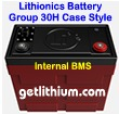Lithionics Battery 12 Volt lithium-ion high performance lightweight battery for RV, sailboats, yachts, car, truck, marine and solar power systems