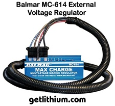 Balmar MC-614 external Voltage regulator for high output marine and RV alternators