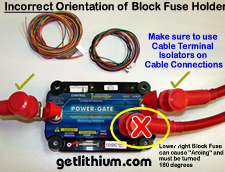Click on the image for a larger POWER-GATE Installation tip image