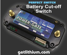 Perfect Switch Power-Gate solid state Battery Cut-off Switch
