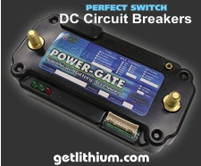 Perfect Switch Power-Gate solid state DC Circuit Breakers