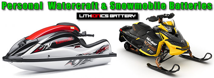 Lithium ion batteries make your personal watercraft faster and more reliable