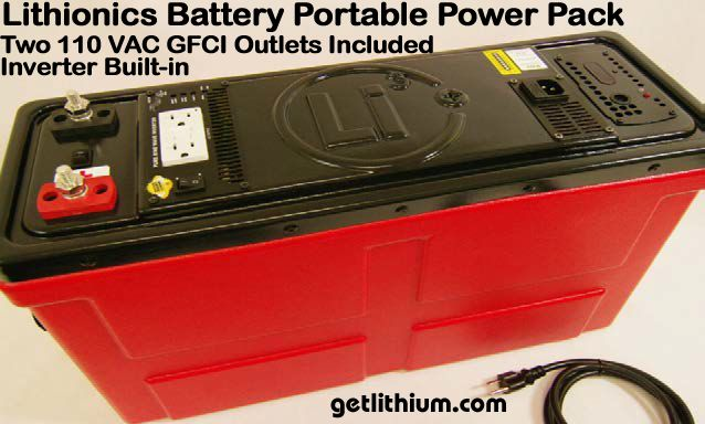 Portable Power Packs with built-in AC Inverters