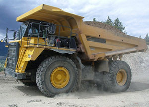 Mining industry CAT dump trucks will benefit from lithium ion batteries