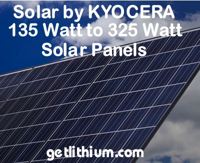 Kyocera Solar Kd140gx Lfbs High Efficiency Solar Energy