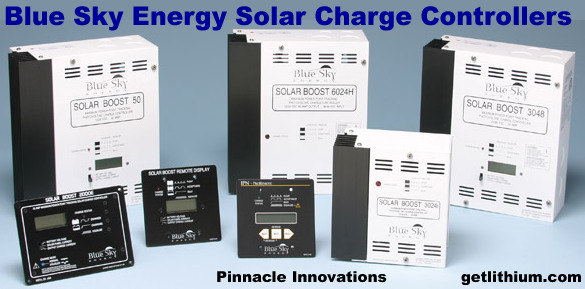Blue Sky solar energy charge controllers