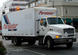 Lithium ion batteries are great for Courier trucks that travel many miles per day