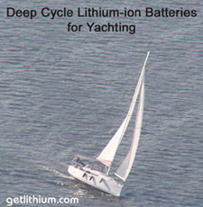 Click here for powerful deep cycle house power and diesel engine starting lithium ion batteries. for yachts, sailboats and other marine battery applications...