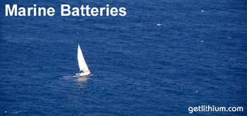 Lithium ion batteries for sailboats, yachts and more...