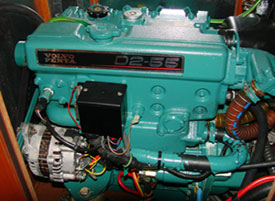 Lithium ion batteries are compatible with Marine Engine Alternators