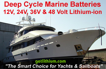 Click here for Marine Lithium-ion Deep Cycle House and Engine Start Batteries...