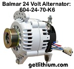 Balmar 24 Volt 70 Amp alternator kit
