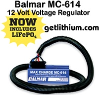 Balmar 12 Volt external alternator Voltage Regulator kit