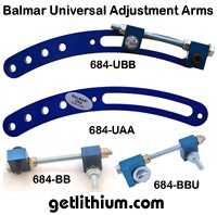 Balmar alternator universal adjustment arm kit kit