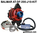 Balmar 200 Amp 12 Volt high output alternator kit