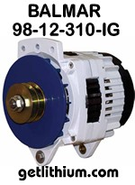 Balmar 12 Volt 310 Amp alternator kit