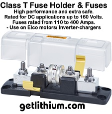Blue Sea Marine Class T fuse and fuse holder