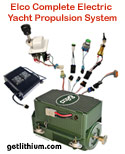 Elco Electric Yacht Motors: Repower your yacht or sailboat with efficient, powerful and durable Elco complete elctric marine propulsion systems. Motors rated from 8 Diesel Horsepower to over 125 Diesel Horsepower equivalency