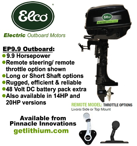 Elco electric marine outboard engines