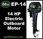 Click here for details on this Elco 14HP electric outboard motor