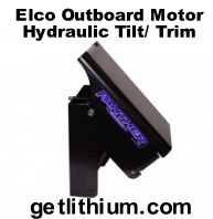 Panther electric outboard motor hydraulic tilt/ trim system