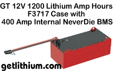 Click here for details on the World's most powerful 8D lithium-ion battery for RV, Trucks, Marine, Yachts and Solar Power Harvesting.