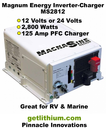Magnum Energy Magnasine inverter-chargers for RV and marine electrical installations