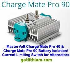Mastervolt Charge Mate Pro 90 current limited electronic relay
