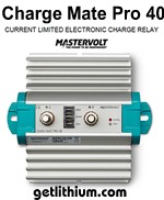 Mastervolt Charge Mate Pro 40 current limited electronic relay