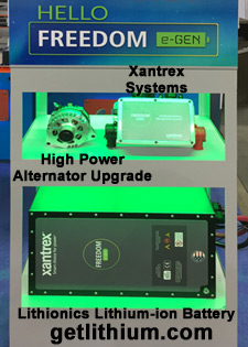 Lithionics batteries matched up with the ideal high performance inverter-charger by Xantrex, Victron Energy, Magnum energy, OutBack Power and more...