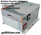 Xantrex Freedom SW 3012 inverter-charger - click for a larger image
