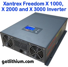 Xantrex Freedom X marine/ RV inverter